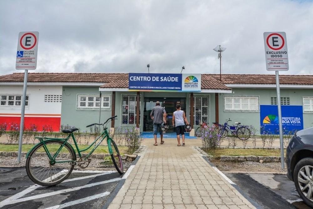 Unidade básica de saúde Olenka Macellaro, no bairro Caimbé, em Boa Vista. — Foto: Prefeitura de Boa Vista/Divulgação