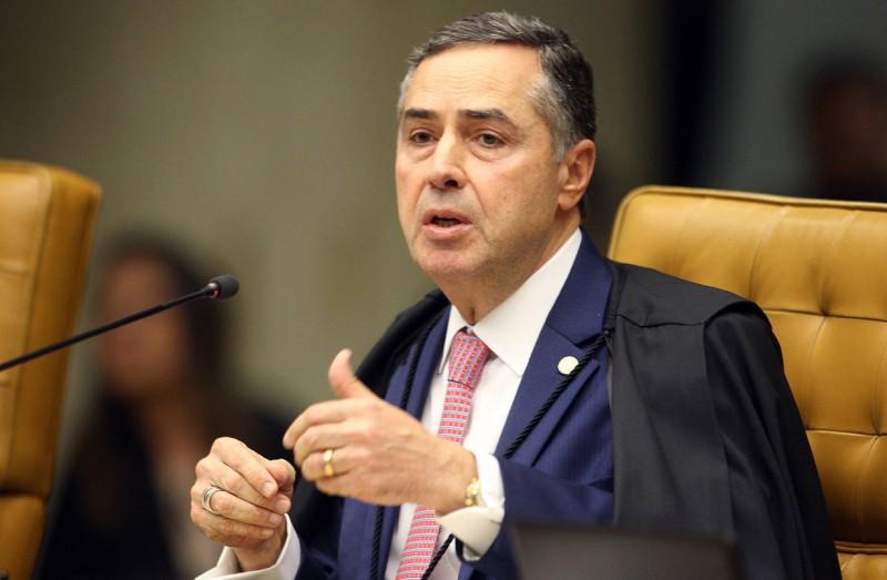Ministro Luís Roberto Barroso: 'Temos o dever moral de proteger os indígenas' - (Foto: Nelson Jr./SCO/STF - 18.03.2020)