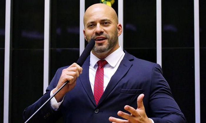 O deputado federal Daniel Silveira, preso na semana passada - (Foto: Divulgação/Câmara dos Deputados)